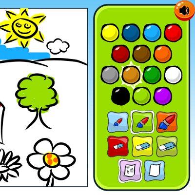 Malování pro děti #Gamesy